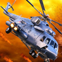 Black Hawk Gunship Army War