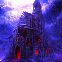 привидениями город