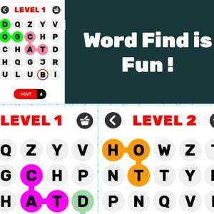 Word Find is Fun ! Word Find Game ! Word Find Game