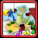 Kinder-Dinosaurier-Rätsel
