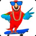 Funny Talking Parrot