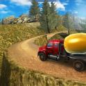 Uphill Cement Truck Driving 3D