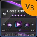 Cool purple PlayerPro Skin