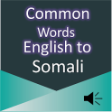 Common Words English to Somali