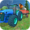 Farm Animals Tractor Driving
