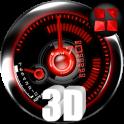 Red Drift NEXT theme iconpack