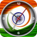 India Clock Live Wallpaper