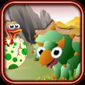 QCAT Kleinkind Dino-Puzzle