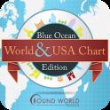 Blue Ocean World & USA Chart