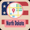 USA North Dakota Maps