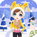Dress Up Girl winter game