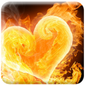 Burning Animated Wallpaper