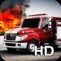 Resgate incêndio Parque 3D HD