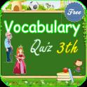 Vocabulary Quiz 3rd Grade