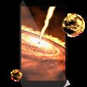 Quasar 3D live wallpaper