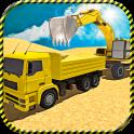 Sand Excavator Truck Sim 2017