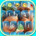 Selfie Photo Keyboard Themes