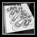 Dibujo de las ideas del arte