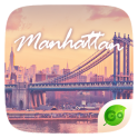 Manhattan GO Keyboard Theme
