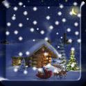 Christmas Night Live Wallpaper