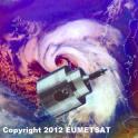 Weather satellite widget