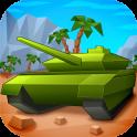Craft Cube Tank Battle 3D Wars