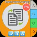 Import Export Contacts Pro