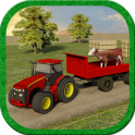 Farm Tractor Silage Transport
