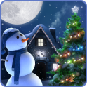 Christmas Moon Live Wallpaper