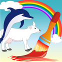 Coloring Book Animals Pro