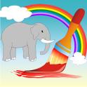 Coloring Book Wild Animals