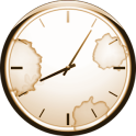 Zahlenlose Uhr