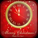 Christmas Clock Wallpaper