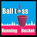 Running Bucket Ball Toss