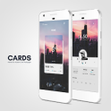 Cards Theme for KLWP