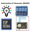NodeMCU ESP8266 WiFi Automação