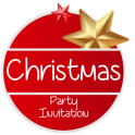 Christmas Party Invitations Card Maker