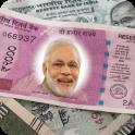 New Indian Money Photo Frame