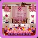 Home Birthday Decoration