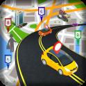 GPS Navegación Mapas Tráfico Ruta Descubridor
