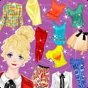 Princess Dress up Doll Fashion