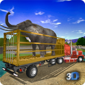 Offroad Animal Truck Transport Driving Simulator