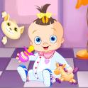 赤ちゃんをドレスアップ