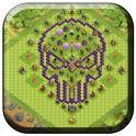 Town Hall 8 Trophy Base Maps