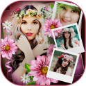 Flower Photo Collage Frames
