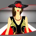 ファッションモデルは、ゲームをドレスアップ