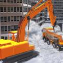 Pala excavación soplador nieve