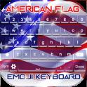 American Flag Emoji Keyboard