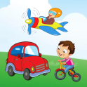 Vehicles Name Sound for Kids