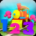 Aprender números 1-10 tren